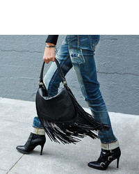 ccb70002356 ... Black Fringe Leather Crossbody Bags Polo Ralph Lauren Fringed Leather  Saddle Bag Polo Ralph Lauren Fringed Leather Saddle Bag ...