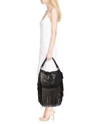 ae23613bd7d Polo Ralph Lauren Fringed Leather Saddle Bag,  628   Ralph Lauren ...