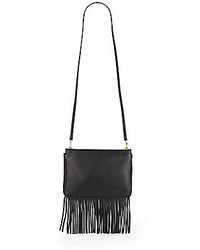 Vince Camuto Shira Fringed Leather Crossbody