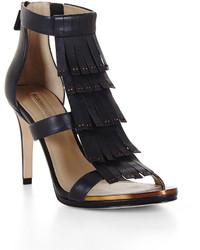 Leigh high heel fringe dress sandal medium 241696