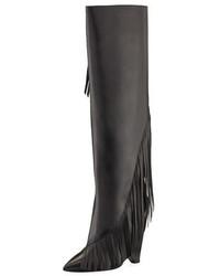 Niki diagonal fringe knee boot medium 5276658