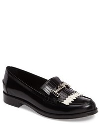 Double t kiltie fringe loafer medium 3730515