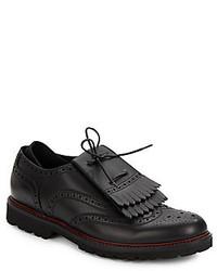 Emporio Armani Leather Brogues
