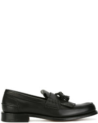 Church's Fringed Trim Loafers