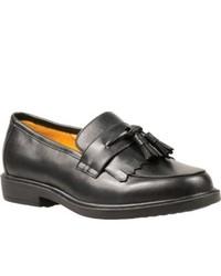 Propet Dixon Black Tassel Loafers