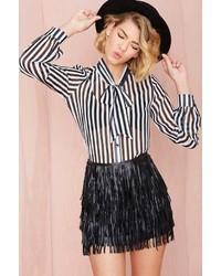 Nasty Gal Wyldr Keep It Together Fringe Skirt