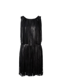 Sonia Rykiel Sleeveless Fringed Dress