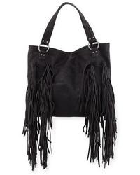 Castaway faux leather tote bag black medium 1054812
