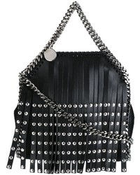 Tiny falabella fringed tote medium 689636