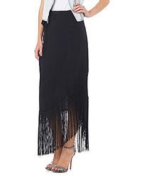 Sam Edelman Fringe Wrap Skirt