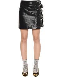 Kenzo Fringed Vinyl Skirt