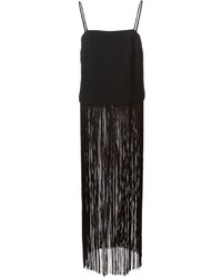 DKNY Long Fringed Top