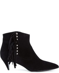 Fringed ankle boots medium 272103