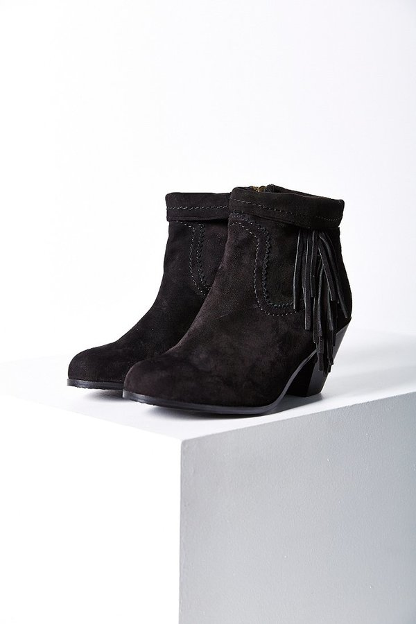 12353f1c58bab8 ... Suede Ankle Boots Sam Edelman Louie Fringe Ankle Boot ...