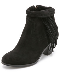4cdf76d15aca Sam Edelman Arizona Suede Fringe Bootie Black Out of stock · Sam Edelman  Louie Suede Fringe Booties