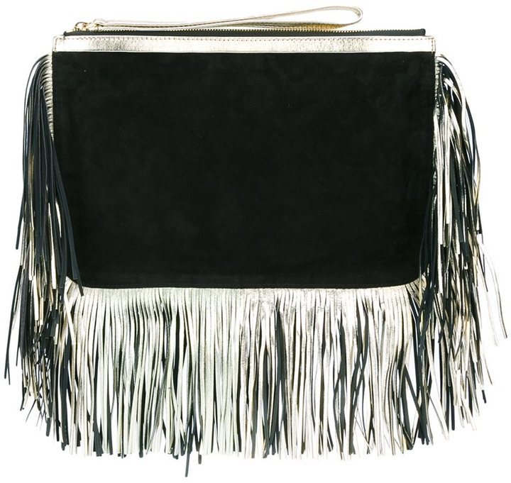 Pierre Hardy Fringed Edge Clutch Bag