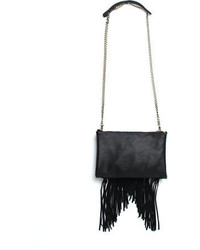 Street Level Fringe Crossbody Bag 42