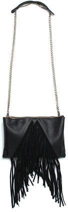 Street Level Fringe Crossbody Bag