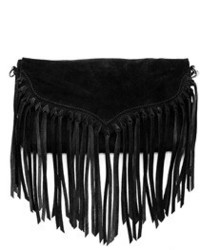 Susu lillian suede fringe crossbody medium 547443