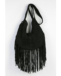 11ec343dbe Urban Outfitters Ecote Bettina Suede Fringe Hobo Bag