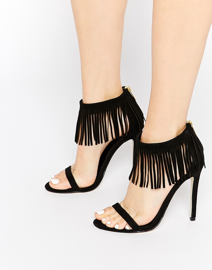 bb765395f8ab ... Asos Collection Harbour City Heeled Sandals ...