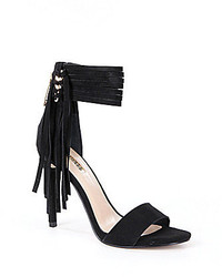 GUESS Carlene Fringe City Sandals