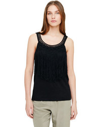 Club monaco prue fringe tank medium 400129