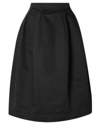 Marni Cotton And Twill Midi Skirt