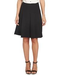CeCe Crepe A Line Skirt