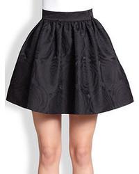 Kate Spade New York Rose Jacquard Full Skirt