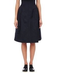 Marni Bonded Full A Line Skirt Black Size 40 It