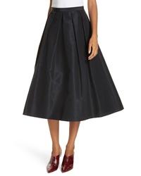 Tibi Silk Faille Full Skirt