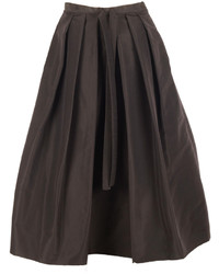 Tibi Silk Faille Skirt 08