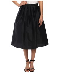 Adrianna Papell Taffeta Mid Length Skirt