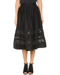 Alice + Olivia Tamira Lace Skirt