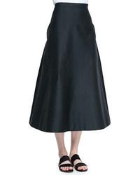 The Row Sprecher Full A Line Easy Skirt Black
