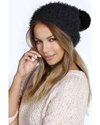 Boohoo Amelia Pom Pom Ears Beanie Hat