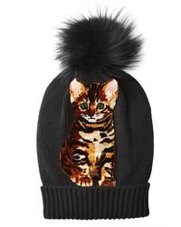 Dolce & Gabbana Cashmere Hat With Fox Fur