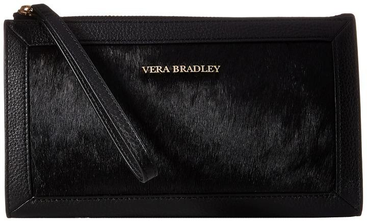 Vera Bradley Calf Hair Wristlet