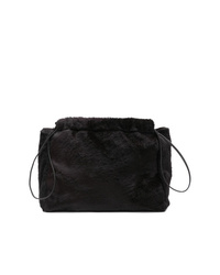 Jil Sander Faux Fur Clutch Bag