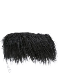 MM6 MAISON MARGIELA Faux Fur Clutch