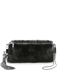 Monique Lhuillier Kate Fur Clutch