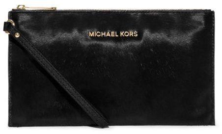 12406330692c Michael Kors Michl Kors Bedford Large Calf Hair Wristlet, $138 | Michael  Kors | Lookastic.com