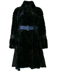 Belted faux fur coat medium 4355711