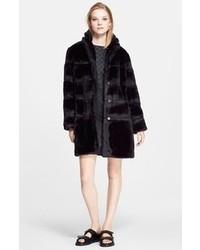 Marc by Marc Jacobs Boxy Faux Fur Coat