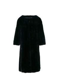 Liska Buttoned Fur Coat