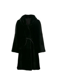 Liska Dawson Hooded Fur Coat