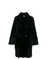 Desa Collection Double Breasted Fur Coat