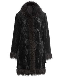 Anna Sui Faux Fur Coat