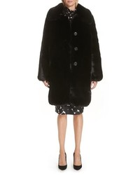 Marc Jacobs Faux Fur Coat